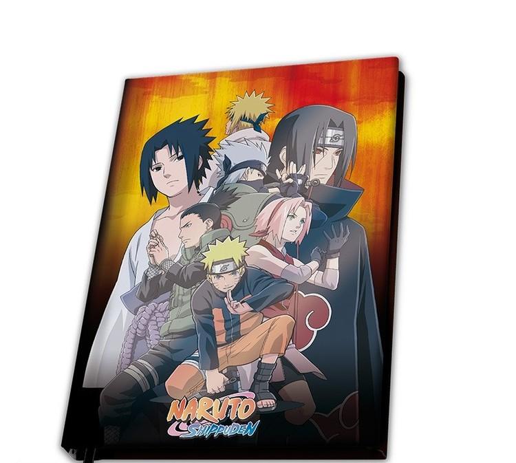 Quaderno Naruto Shippuden - Konoha Group