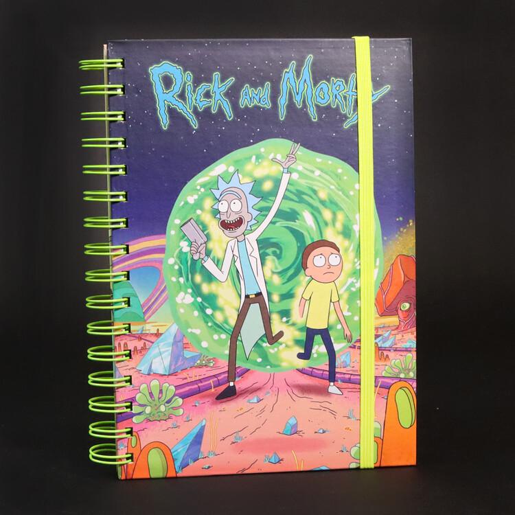 Quaderno Rick and Morty - Portal
