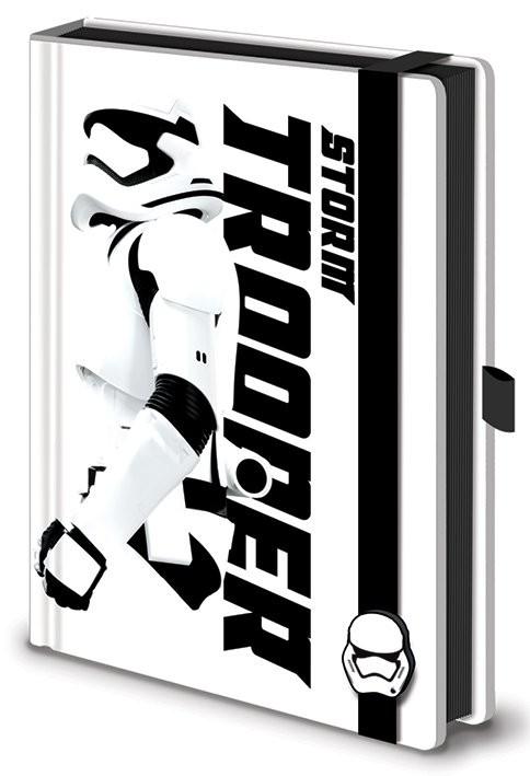 Quaderno Star Wars, Episodio VII : Il risveglio della Forza - Stormtrooper Premium A5