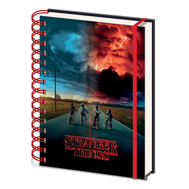 Quaderno Stranger Things - Mind Flayer 3D Cover