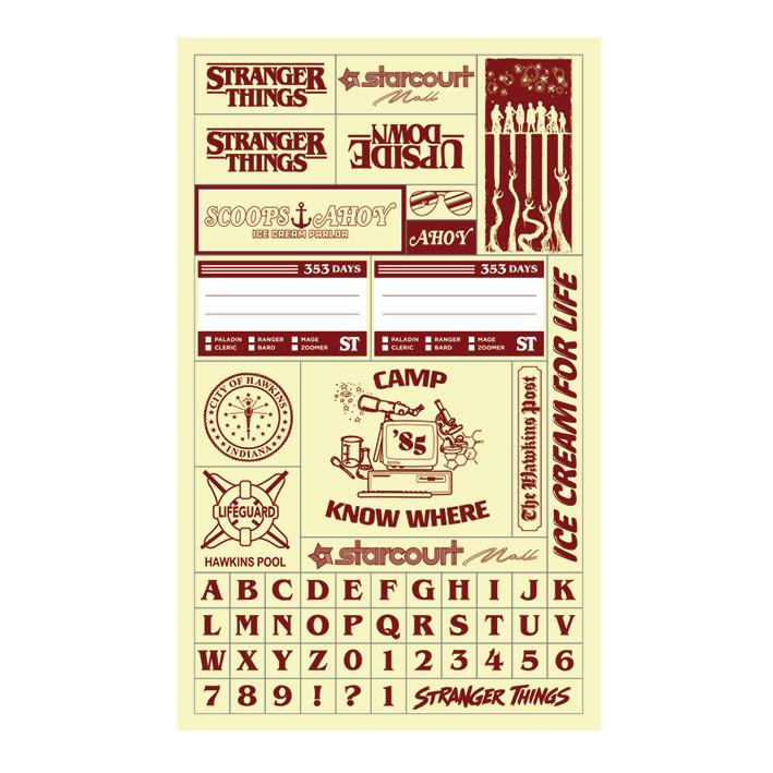 Quaderno Stranger Things – Season 3 VHS