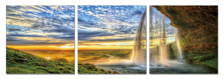 Quadro Dream about Paradise - Waterfall