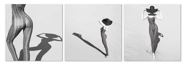 Quadro Silhouette of woman