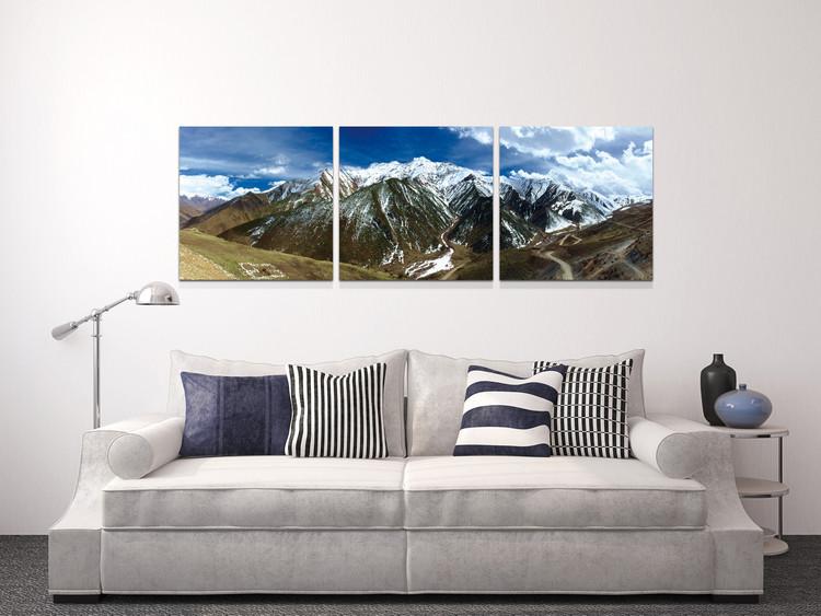 Quadro  Snowcapped mountains