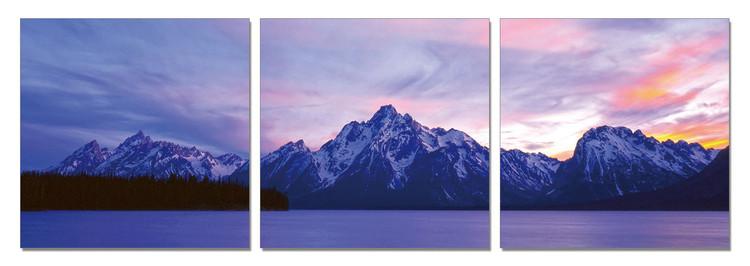 Quadro View of the Nature in Grand Teton