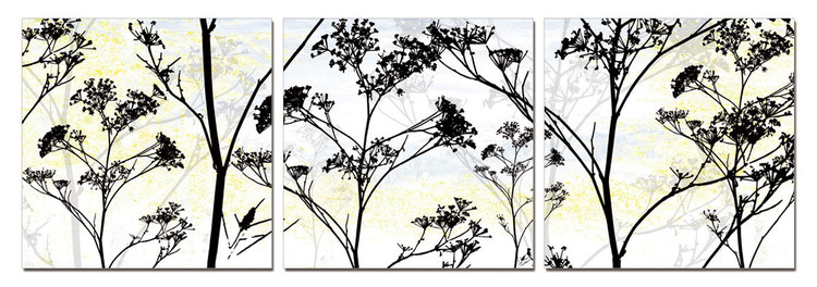 Quadro Wild Flower Silhouette