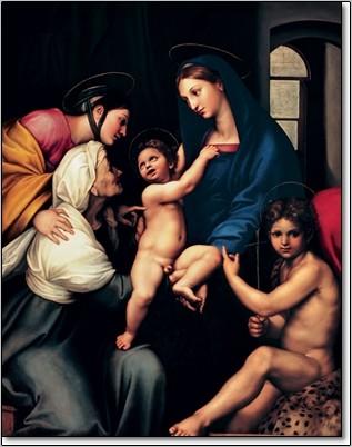 Raffaello Festmény reprodukció