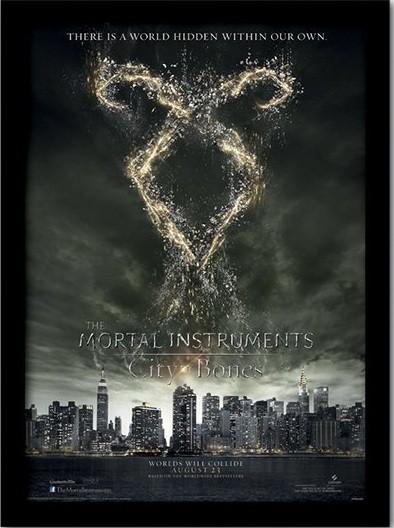 MORTAL INSTRUMENTS : MĚSTO Z KOSTÍ – rune  rám s plexisklem