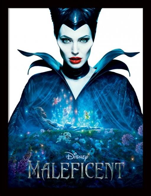 Zloba: Královna černé magie - One Sheet rám s plexisklem