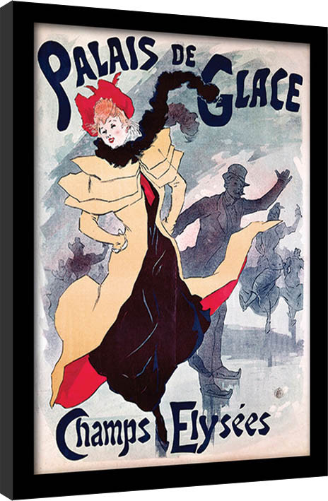 Palais de Glace - Champs Elysées  rám s plexisklom
