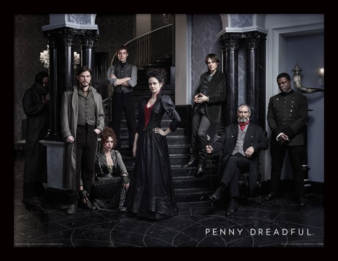 Penny Dreadful - Group rám s plexisklom