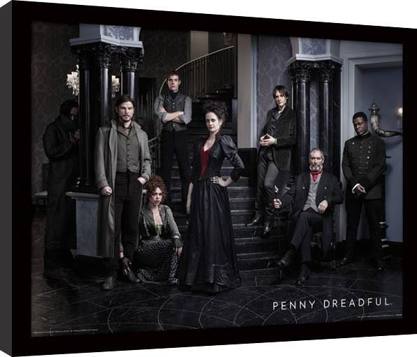 Penny Dreadful - Group rám s plexisklom