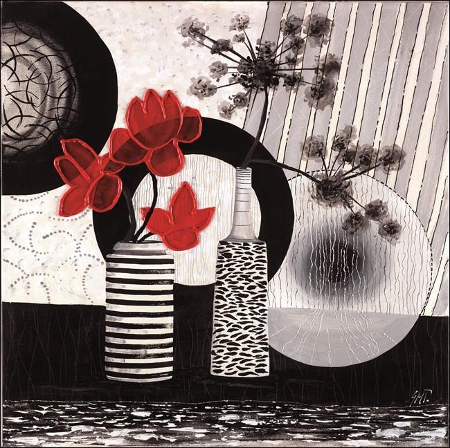 Red art 2 – Trittico Festmény reprodukció
