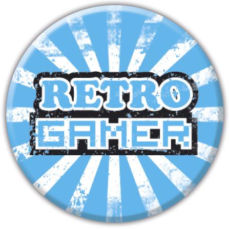 RETRO GAMER Insignă