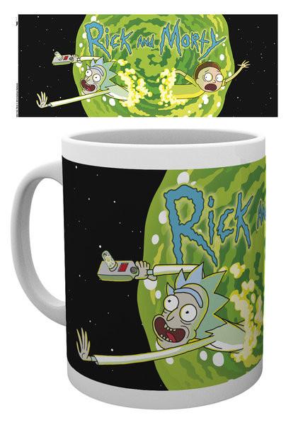 Hrnek Rick And Morty - Logo