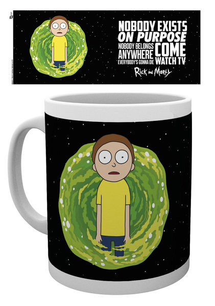 Hrnek Rick And Morty - Nobody Exists