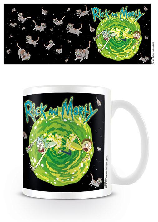 Taza Rick & Morty - Floating Cat Dimension