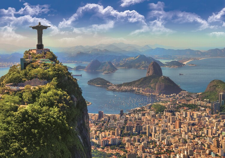 Jigsaw puzzle Rio De Janeiro   Ideje za originalne poklone   Europosteri.hr