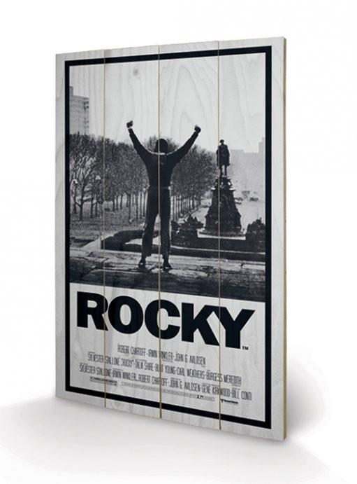Bild auf Holz Rocky - Rocky I
