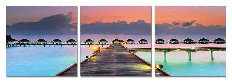 Romance - City in the Indic Ocean Moderne billede