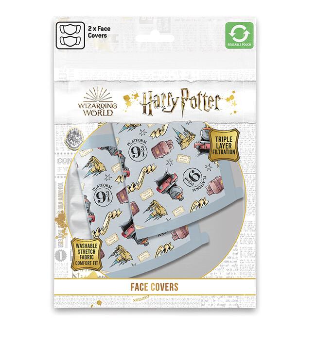 Roušky Harry Potter - Hogwarts Express (2 pack)