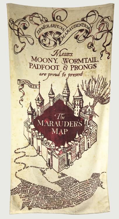 Ručnik Harry Potter - Marauder's Map