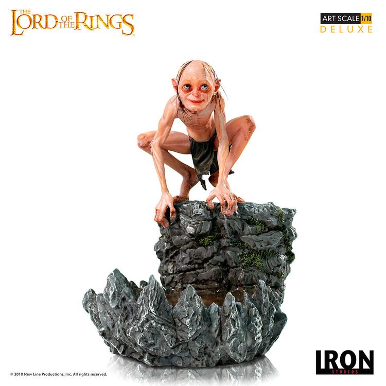 Figur Sagan om Ringen - Gollum (Deluxe)