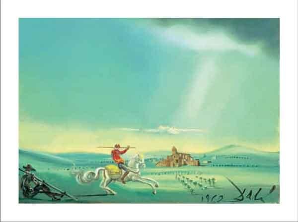 Saint George and the Dragon, 1944 Festmény reprodukció