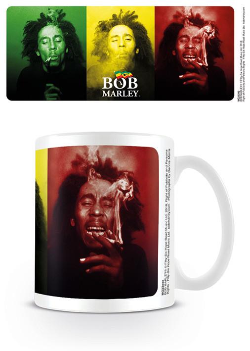 Bob Marley - Tricolour Smoke Šalice