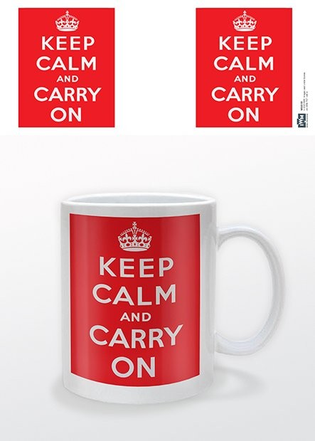 IWM - Keep Calm and Carry On Šalice