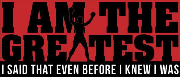 Muhammad Ali - Greatest Šalice