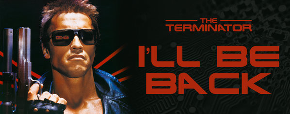 Terminator - I ll be back with Šalice