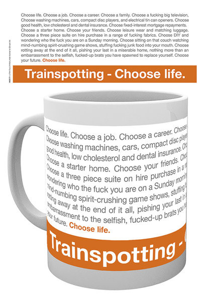 Šalice Trainspotting - Quote