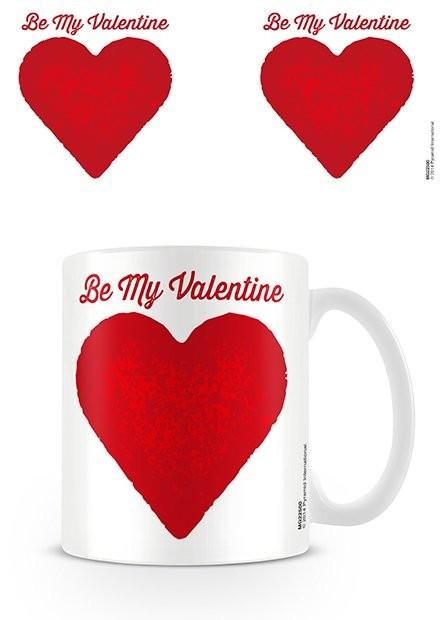 Šalice Valentine's Day - Be My Valentine