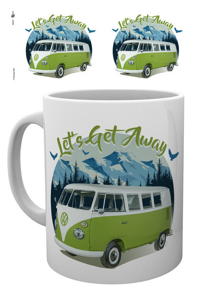 VW Camper - Lets Get Away Šalice