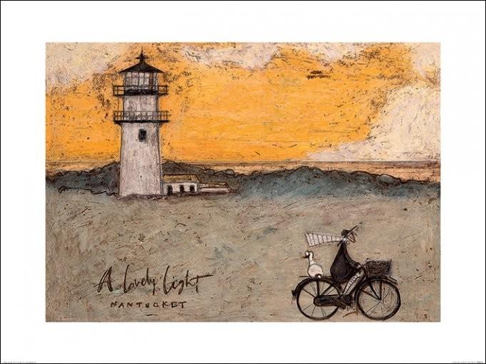 Sam Toft - A Lovely Light, Nantucket Festmény reprodukció