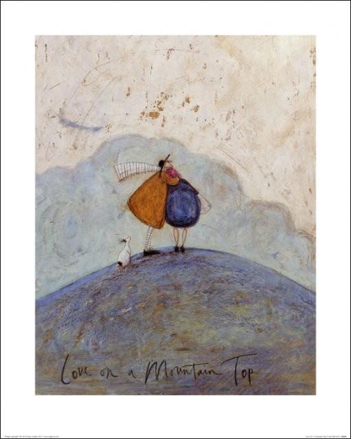 Sam Toft - Love on a Mountain Top Festmény reprodukció