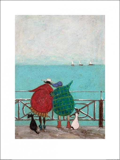 Sam Toft - We Saw Three Ships Come Sailing By Festmény reprodukció