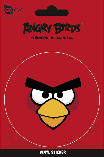 Samolepka Angry Birds - Red Bird