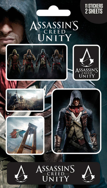 Samolepka Assassin's Creed Unity - Mix