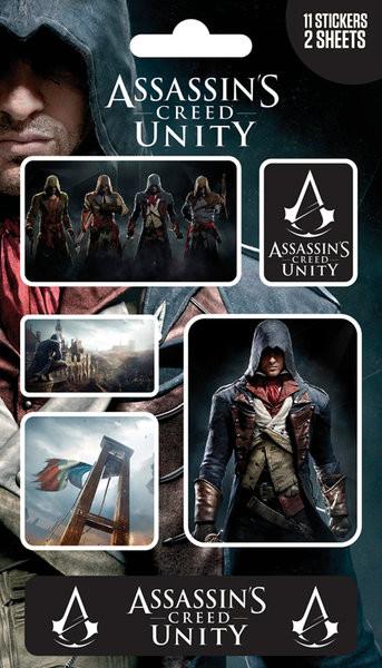 Samolepka Assassin's Creed Unity - Mix