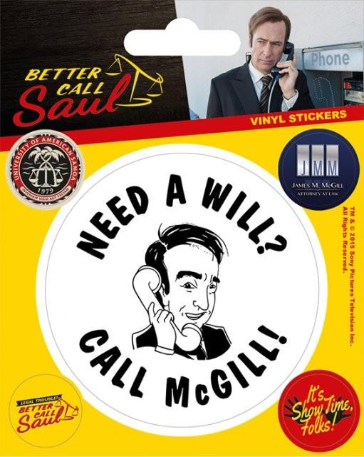 Samolepka Better Call Saul
