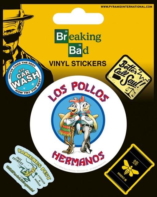 Samolepka Breaking Bad (Perníkový táta) - Los Pollos Hermanos