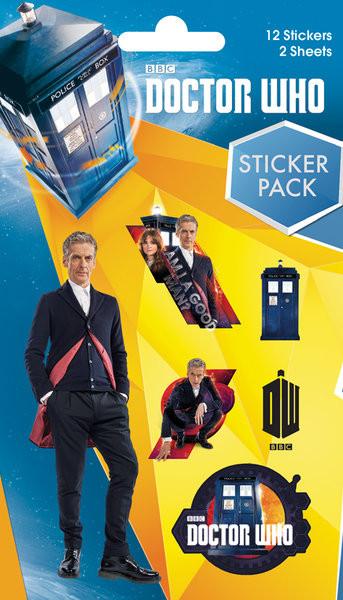 Samolepka Doctor Who - Mix