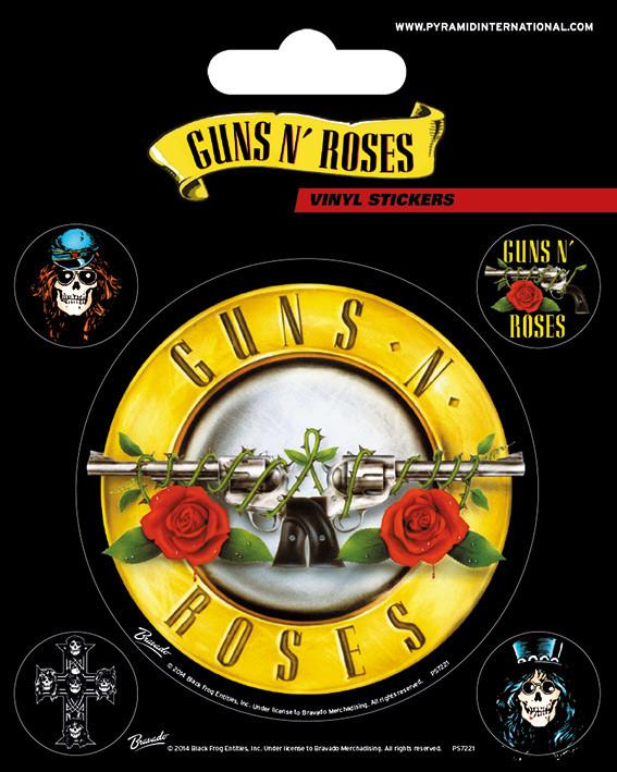 Guns N Roses Bullet Logo Samolepka