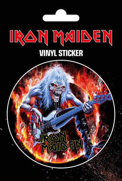 Samolepka Iron Maiden - Fear Live Flames