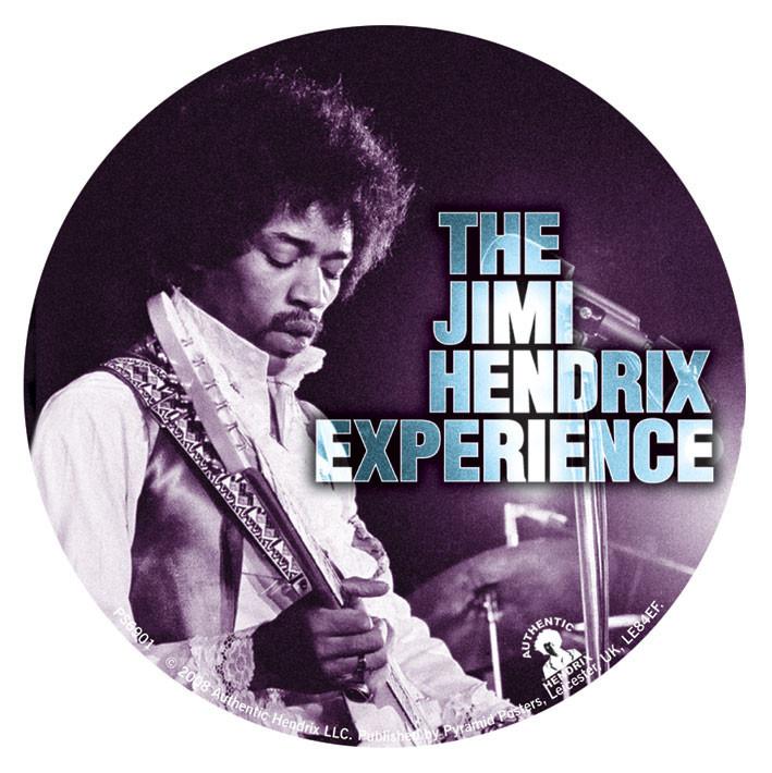 Samolepka JIMI HENDRIX - experience