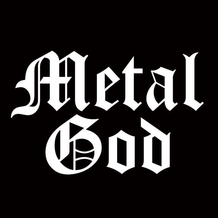 Samolepka METAL GOD