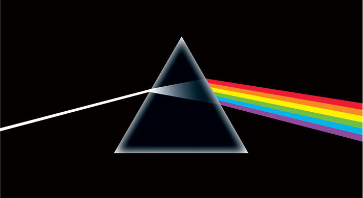 Samolepka PINK FLOYD - dark side of the moon