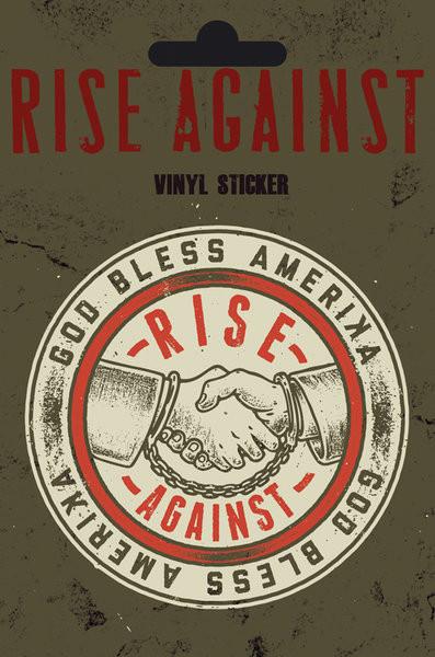 Samolepka Rise Against - Shaking Hands
